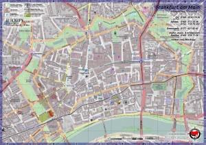 Blockupy 2012 Cityringkarte
