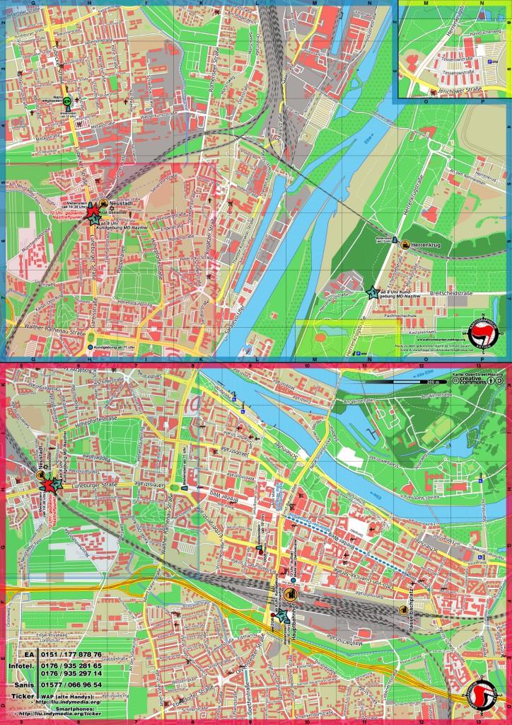 Magdeburg 2014 Detailkarte