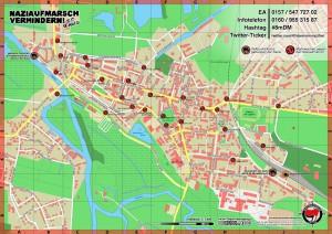 Demmin: Gegenaktionen gegen Naziaufmarsch