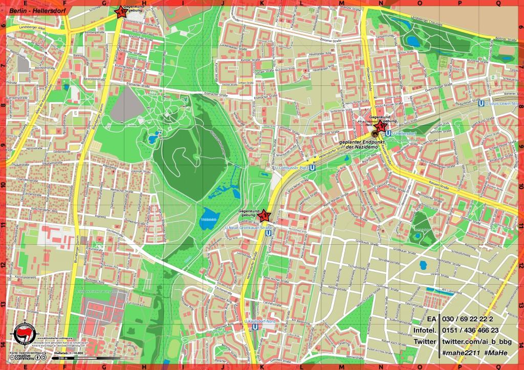 Berlin Hellersdorf Aktionskarten