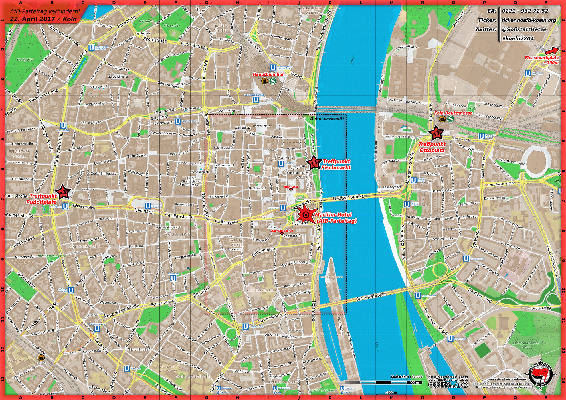 Köln 2017 Übersicht
